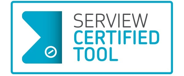 iET ITSM awarded SERVIEW CERTIFIEDTOOL seal of approval